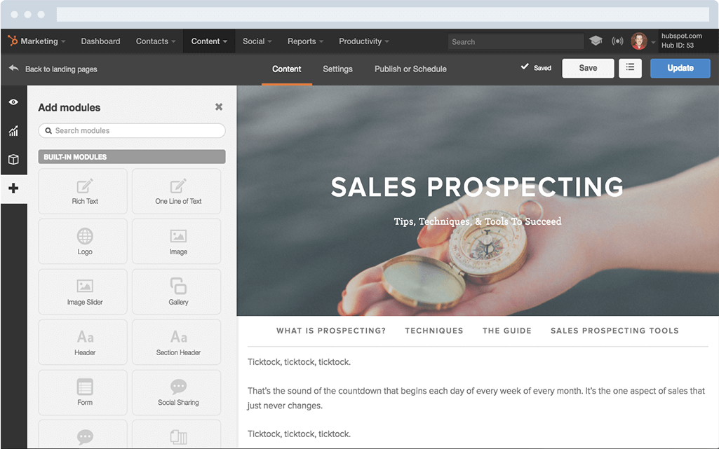 Marketing-LandingPages-hubspot