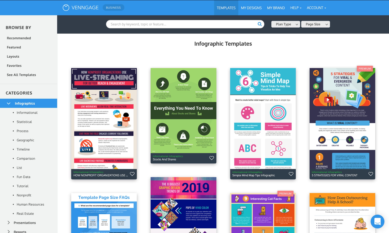 Venngage Infographics