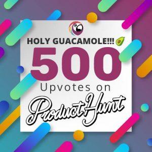 500upvotes