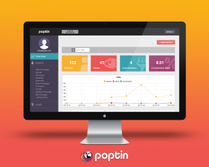 poptin list overview