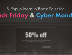 9 popup for black and cyber blog