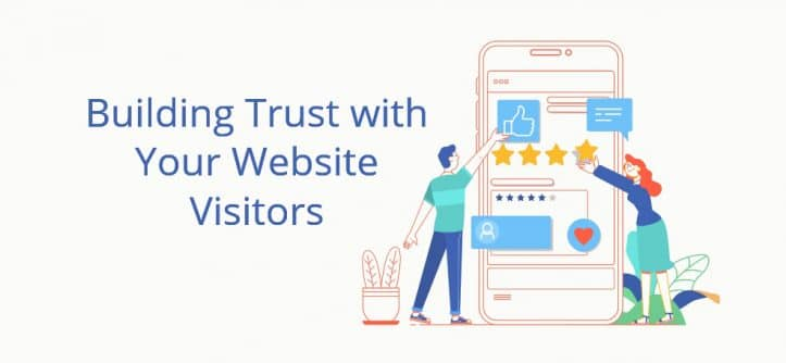 Building trust with your website visitors