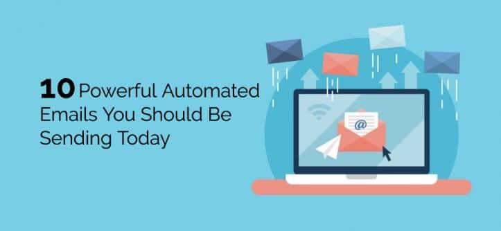 correos electrónicos automatizados