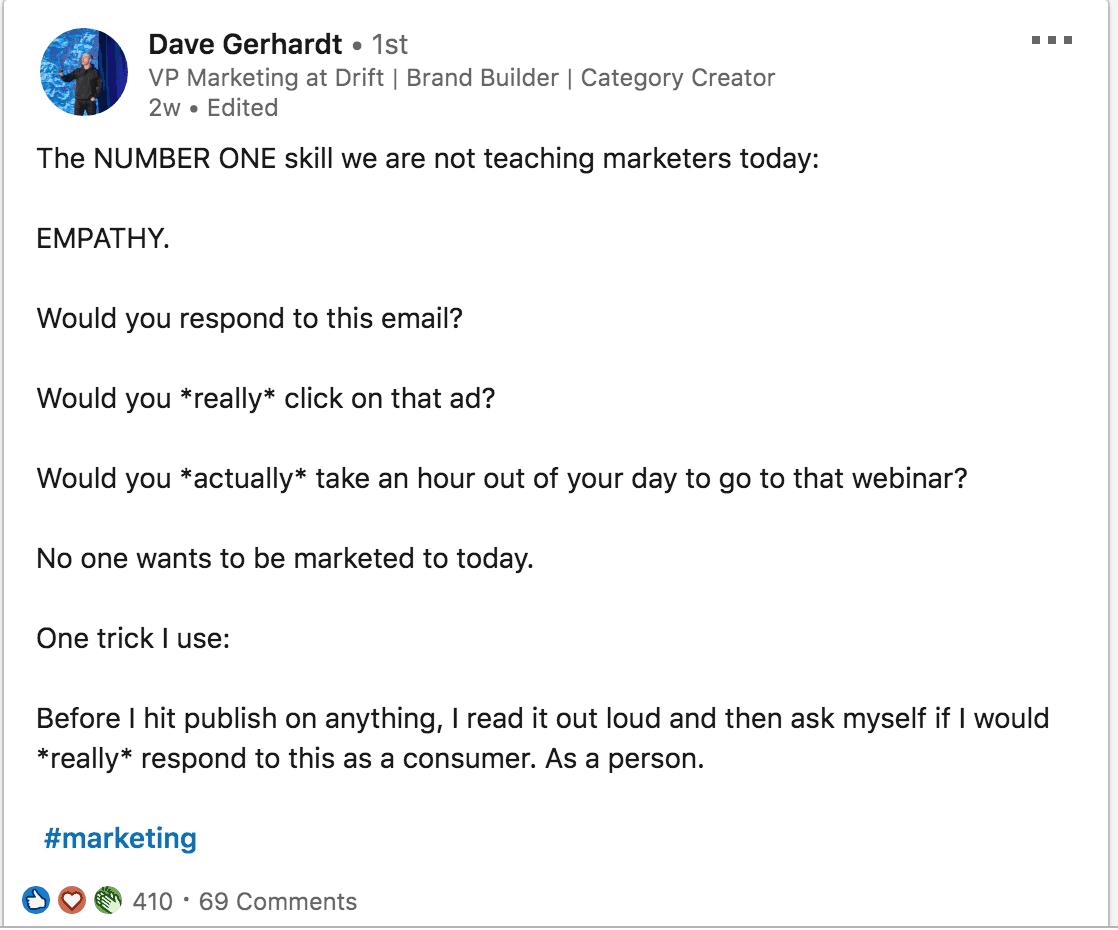 Dave - Empathy