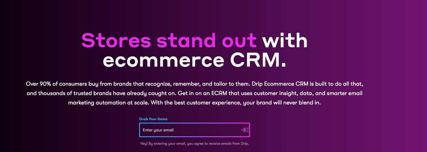 Drip - Ecommerce CRM
