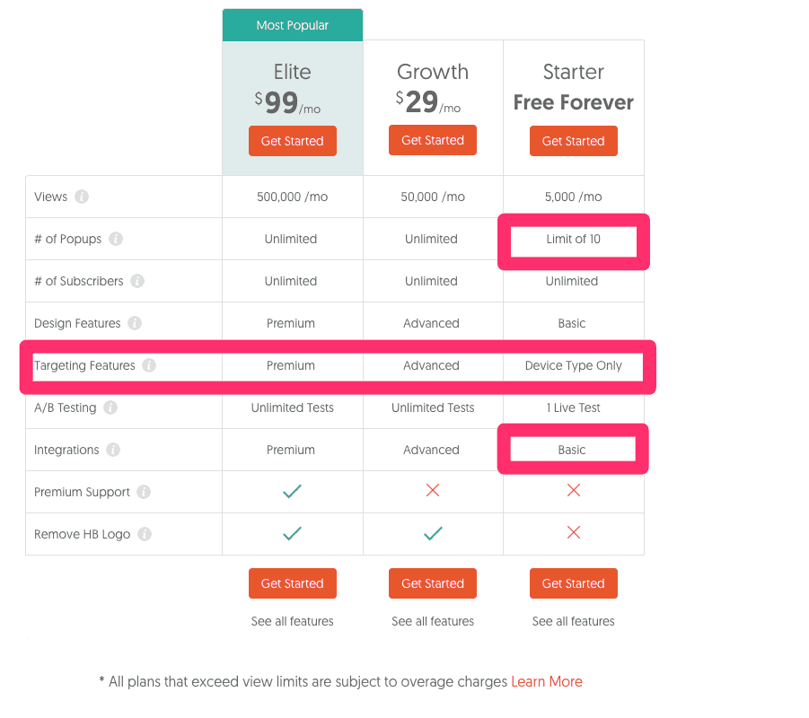 Pricing_-_Hello_Bar_Alternatives