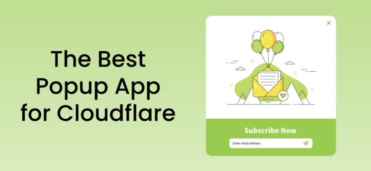 The best popup app for cloudfare