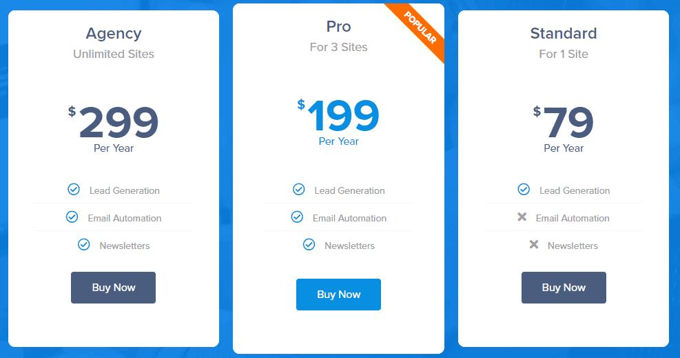 mailmunch alternative mailoptin pricing