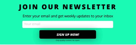 optimonk alternative poptin newsletter pop-up