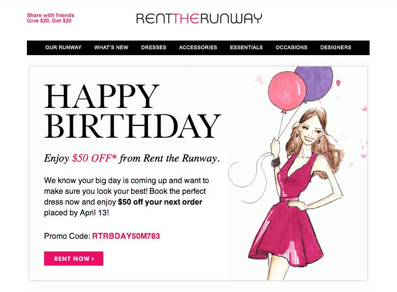 promo, birthday, discount