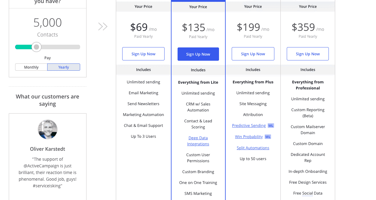 customers, price