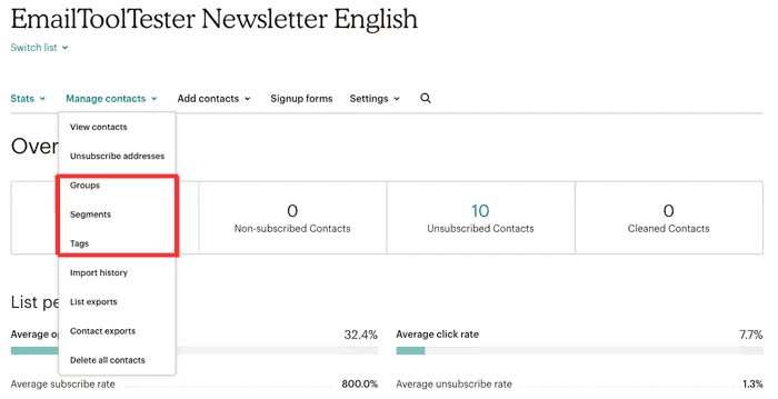 newsletter, english