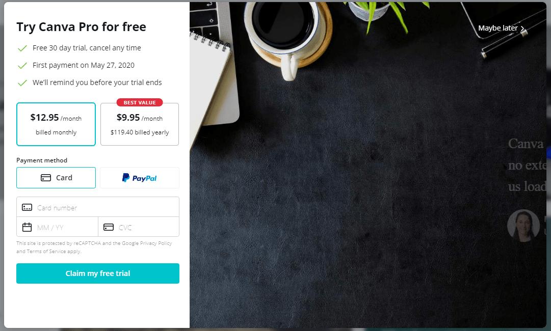 Canva Pro Free