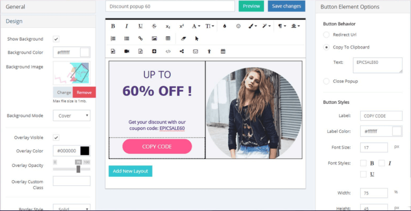 popup maker alternative popup maker editor