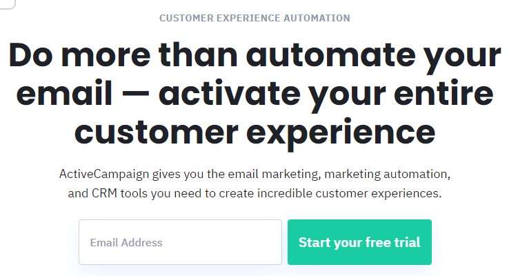 ActiveCampaign Signup