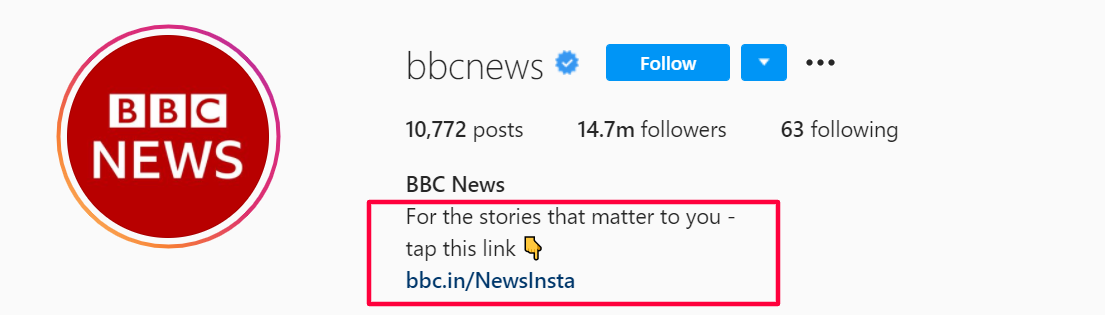 Credit: BBC News Instagram Page