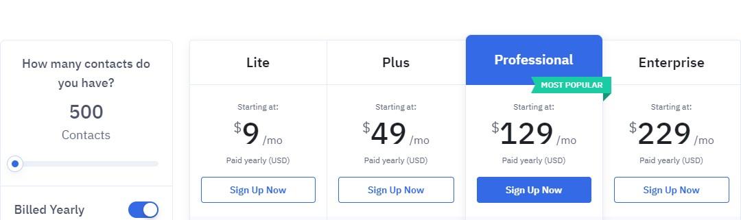 aweber alternatives active campaign pricing
