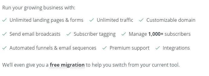 aweber alternatives convertkit features