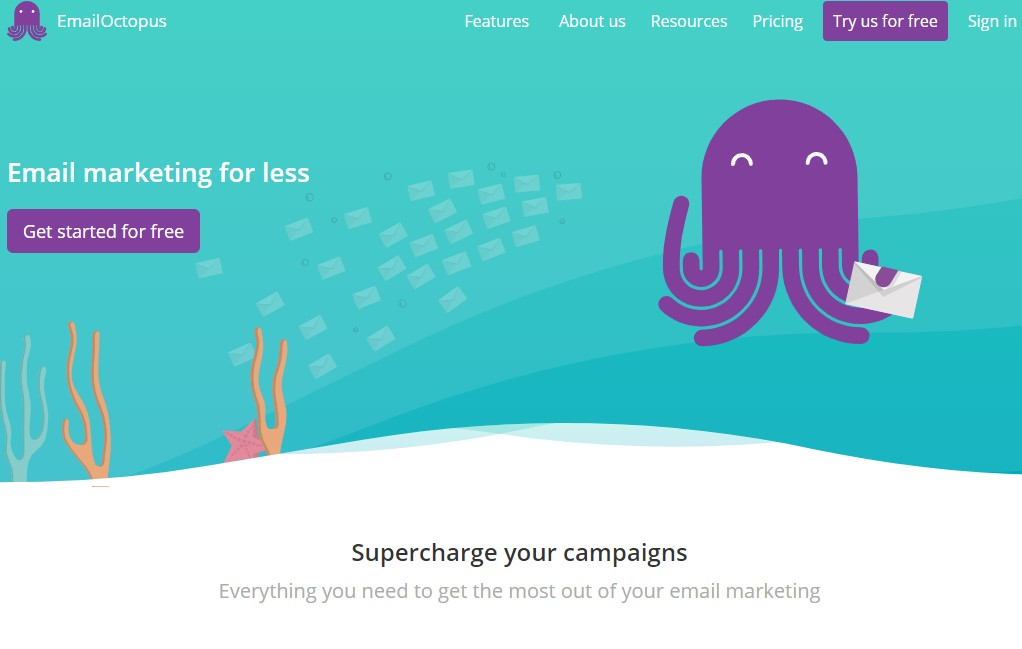 Email Octopus Welcome