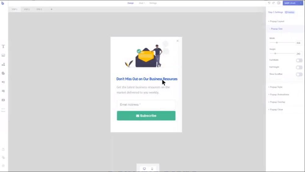 brave popup builder alternatives brave editor