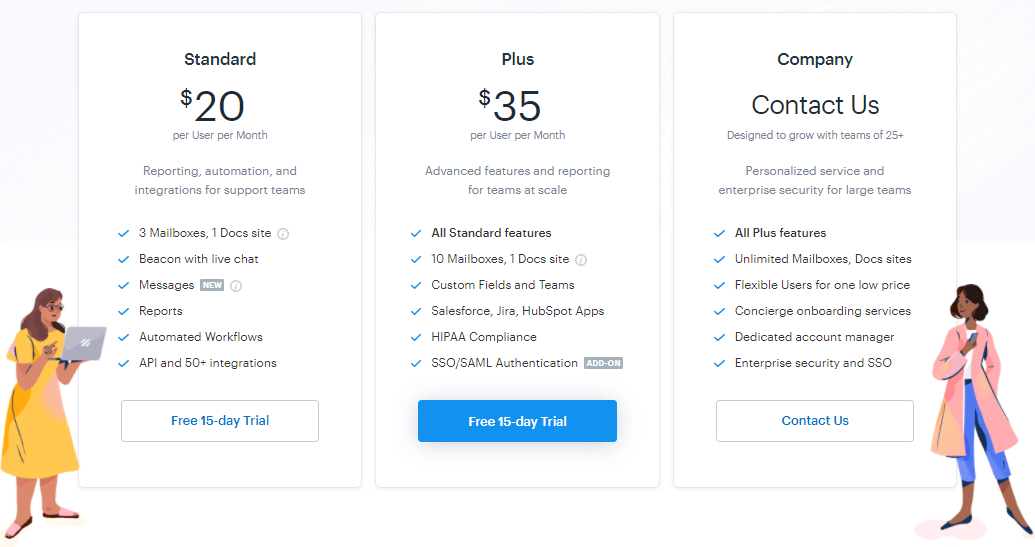 intercom crisp user helpscout help scout pricing