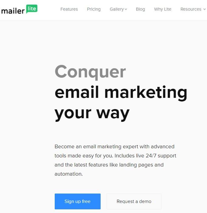 MailerLite Welcome