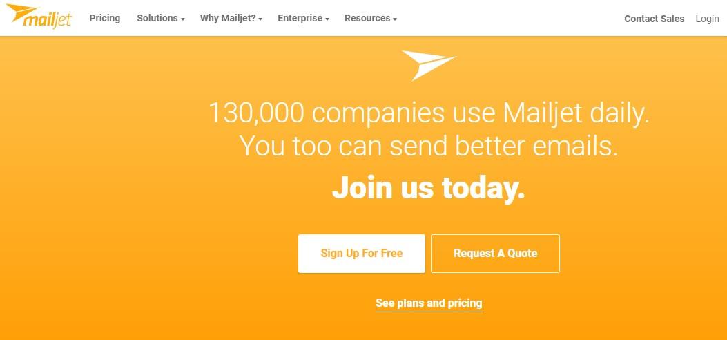 Mailjet Welcome