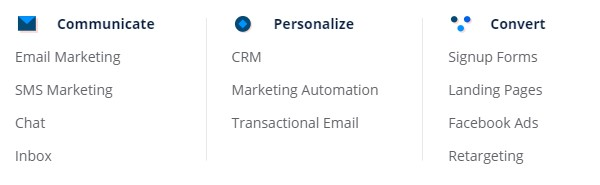 benchmark email alternatives