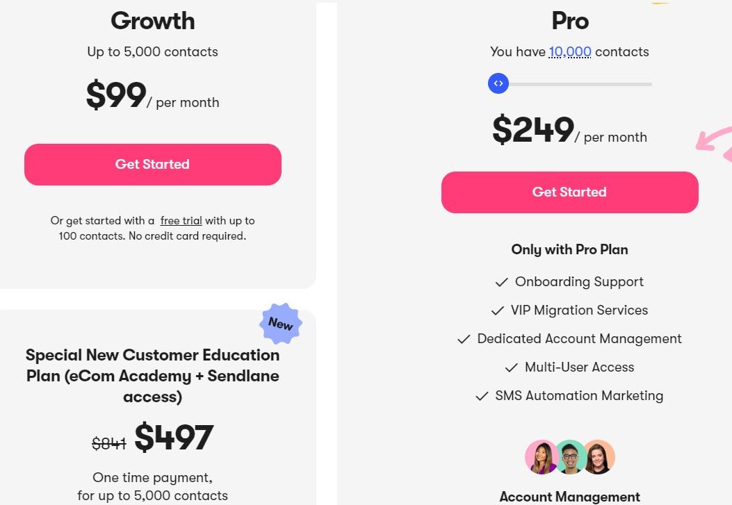 Sendlane Pricing
