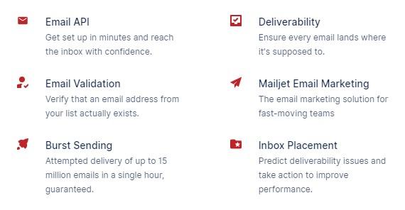 Mailgun Features