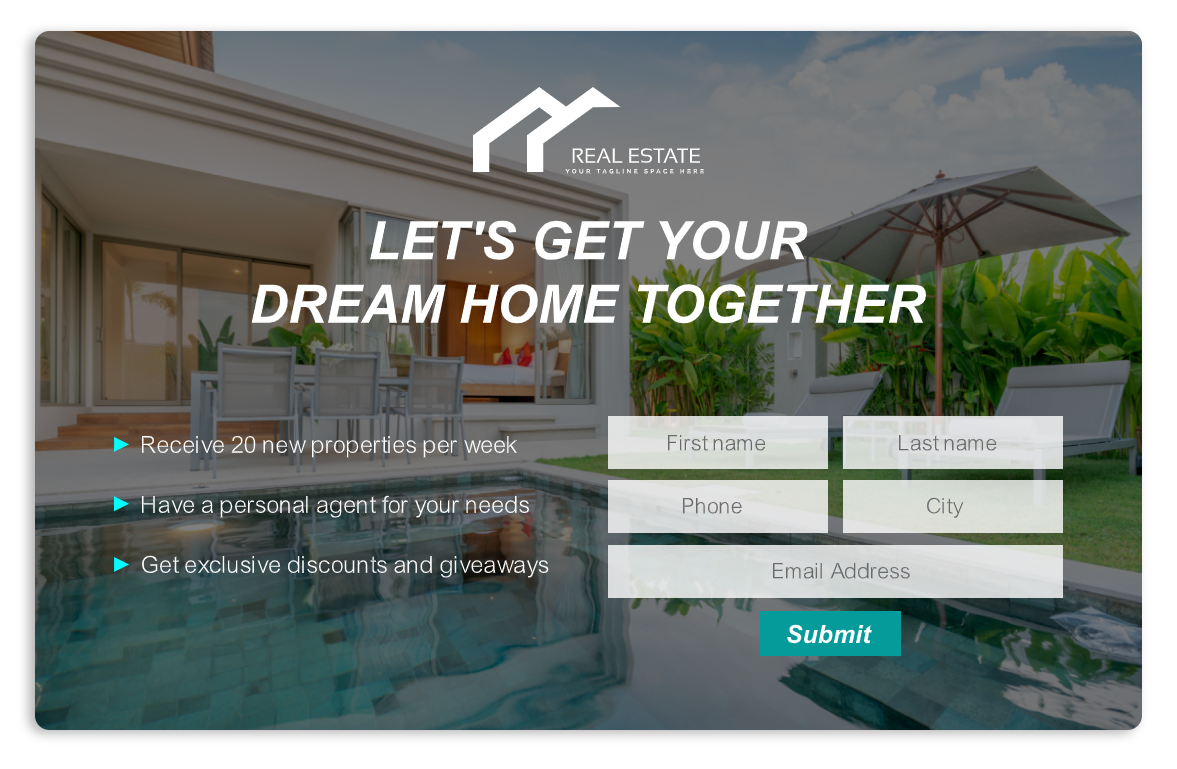 REAL ESTATE POPUP 1