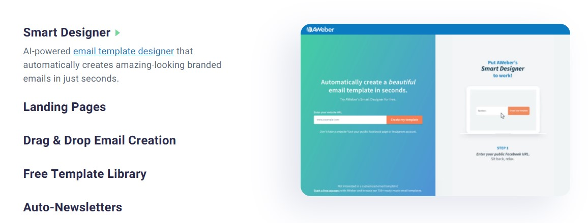 AWeber Features