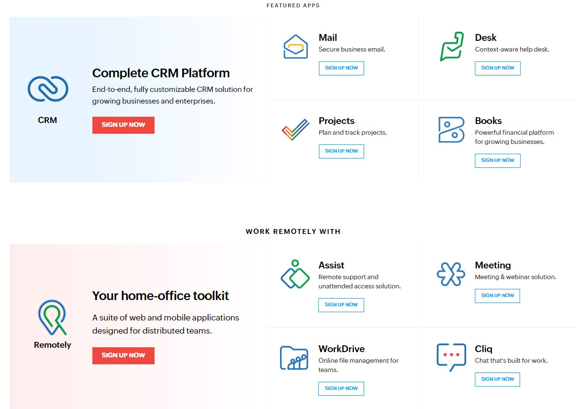 Zoho Campaigns Features
