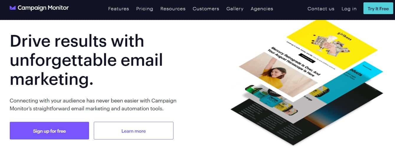 mailigen alternatives email marketing software