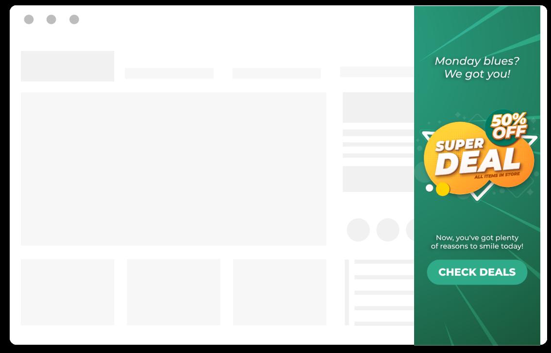 ecommerce pop up ideas popups