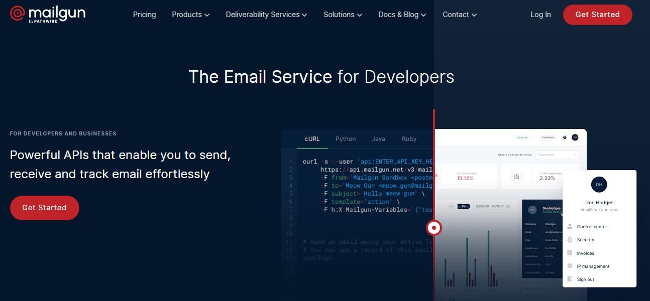 Mailgun Welcome