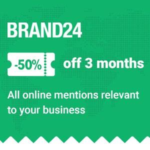 Brand24 coupon code